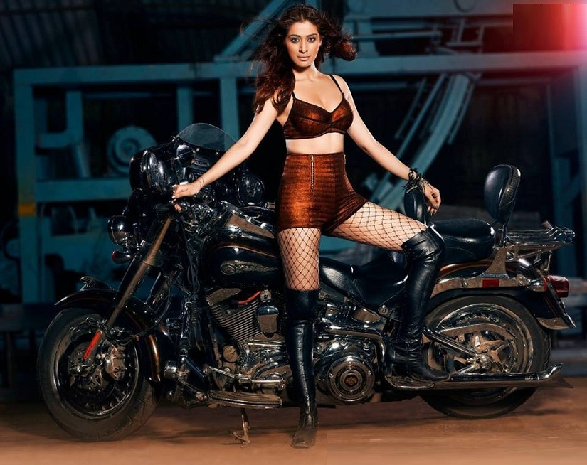 Raai Laxmi in a poster for Julie 2. Image courtesy Facebook/@Julie2Film