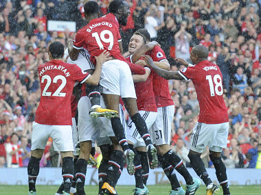 Manchester United face Southampton on Saturday. AP