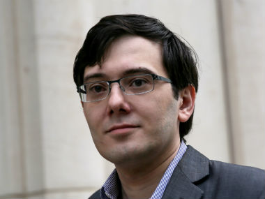File image of Martin Shkreli. Reuters