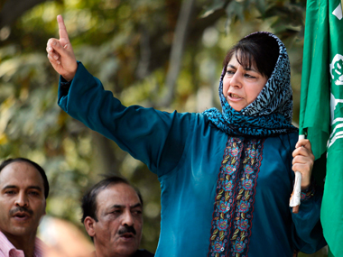 File photo of Mehbooba Mufti. Reuters