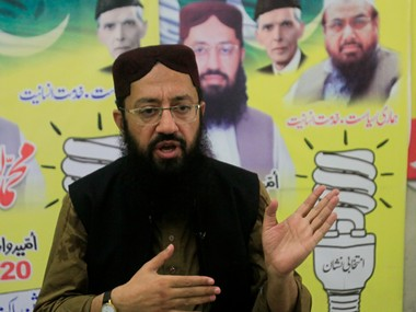 Mohammad Yaqoob Sheikh of JUD-supported Milli Muslim League (MML). Reuters