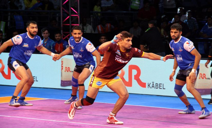 Nitin Tomar has led UP Yoddha from the front in fifth season of Pro Kabaddi. PKL