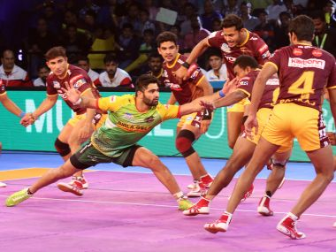 Pardeep Narwal scored another Super 10 to help Patna Pirates to their second win on home turf. PKL