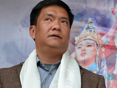 File image of Arunchal Pradesh chief miniter Pema Khandu. AFP