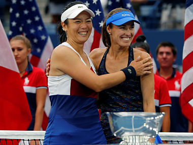 Image result for Martina Hingis and Chan Yung-Jan clinched US Open women's doubles title
