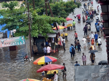 Image result for Chennai rain: City's temperature drops nearly 5 degrees Celsius below normal,