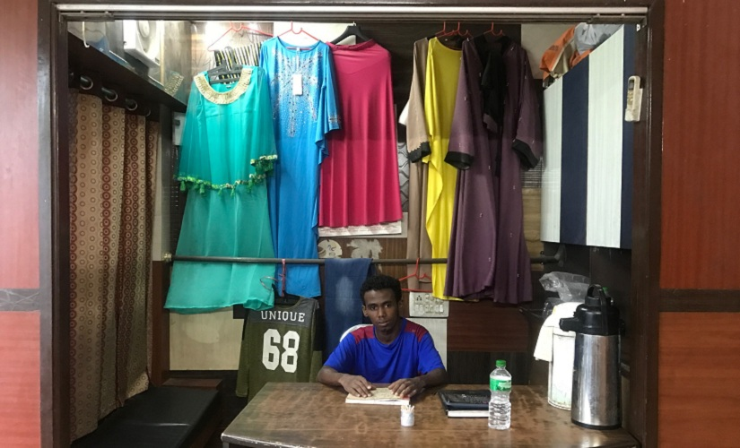 Ibrahim, who works as an errand boy at an Arabic restaurant in Delhi's Khirki. United Nations Children's Fund believes there are up to 5,000 child soldiers in Somalia, mostly recruited by al-Shabaab and clan militias. Firstpost/Pallavi Rebbapragada