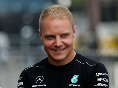 Valtteri Bottas received good news shortly after a successful practice session. Reuters