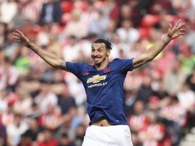 File image of Zlatan Ibrahimovic. AFP