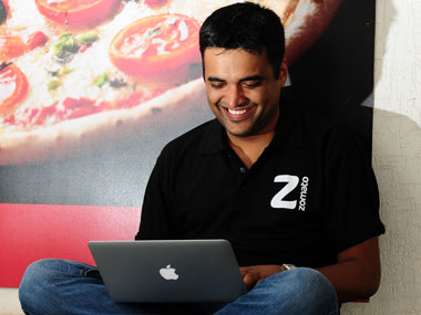 Zomato co-founder Deepinder Goyal.