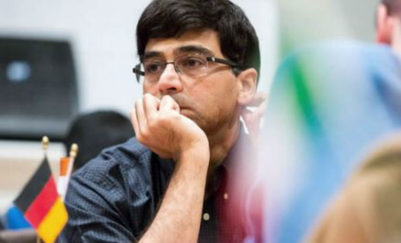 Viswanathan Anand made a strong comeback after his draw in round 2. Chess.com/ Maria Emelianova