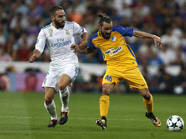 File image of Real Madrid's Daniel Carvajal. AP