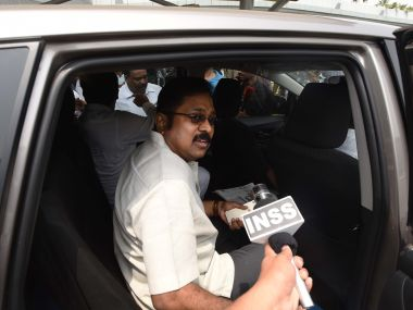 File image of TTV Dhinakaran. Getty images