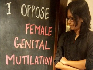 File image of Sahiyo's campaign against female genital mutilation. Image courtesy: Sahiyo