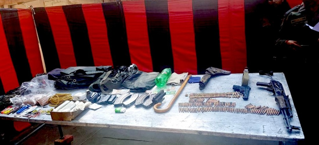 Ammunition recovered from Qayoom Najar after his encounter in Uri. Picture procured by Sameer Yasir.