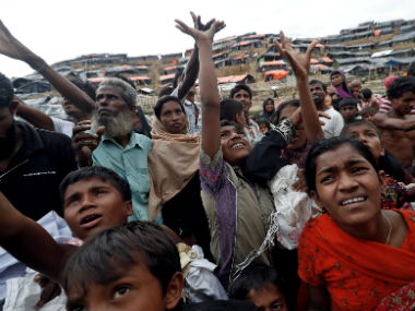File image of the Rohingya refugees. Reuters