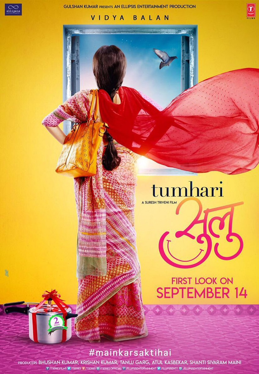 A poster of Tumhari Sulu. Image from Twitter