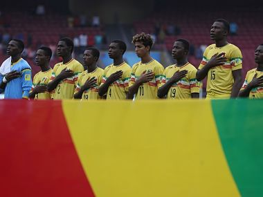 File image of the Mali U-17 men's team. Image courtesy: FIFA