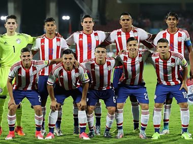 File photo of the Paraguay U-17 team. Image courtesy: FIFA
