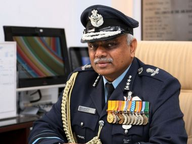 File image of Air Marshal SB Deo. Image Courtesy: Twitter/ @MIA_India