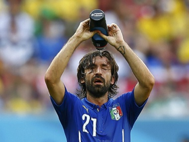 File image of Andrea Pirlo. Reuters