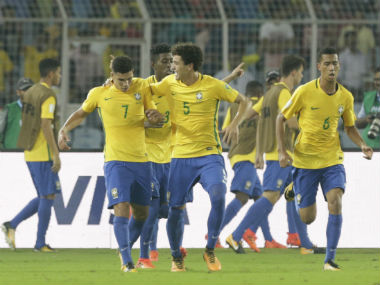 Brazil's only appearance in Kolkata in the World Cup was against Germany in the quarter-finals. AP