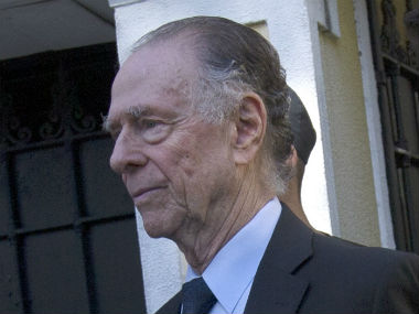 Carlos Nuzman was arrested at his residence on 5 October for his involvement in the vote-buying scandal. AP
