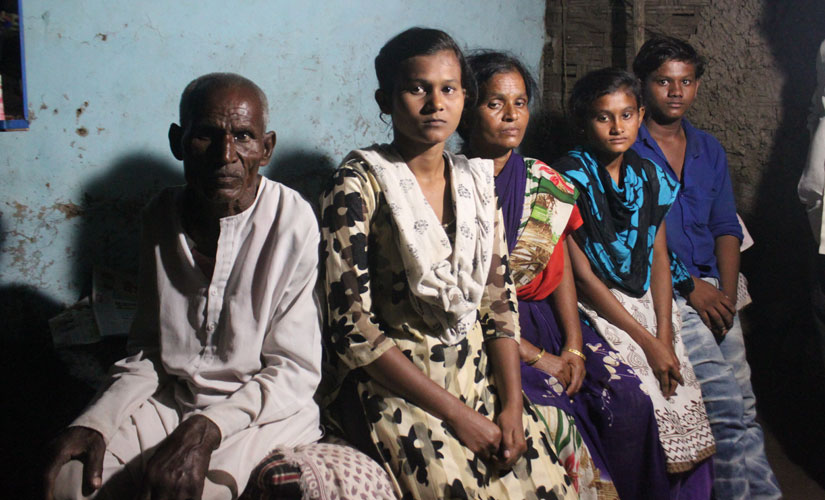 An afflicted family due to the death of its breadwinner because of inhaling toxic pesticides. Image courtesy Karthikeyan Hemalatha