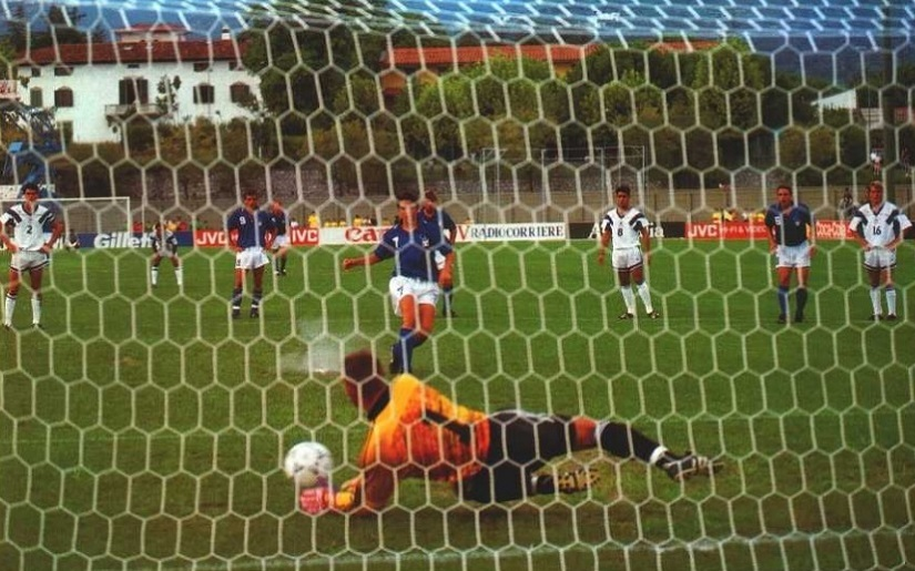 Alessandro del Piero sees his penalty being saved. Image courtesy: FIFA technical committee report