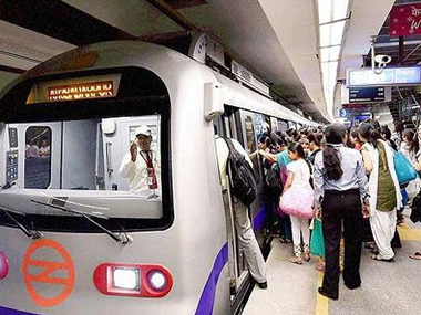 File photo of Delhi metro. PTI