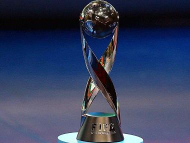 FIFA U-17 World Cup 2017 will be played for this trophy. Image courtesy: AIFF