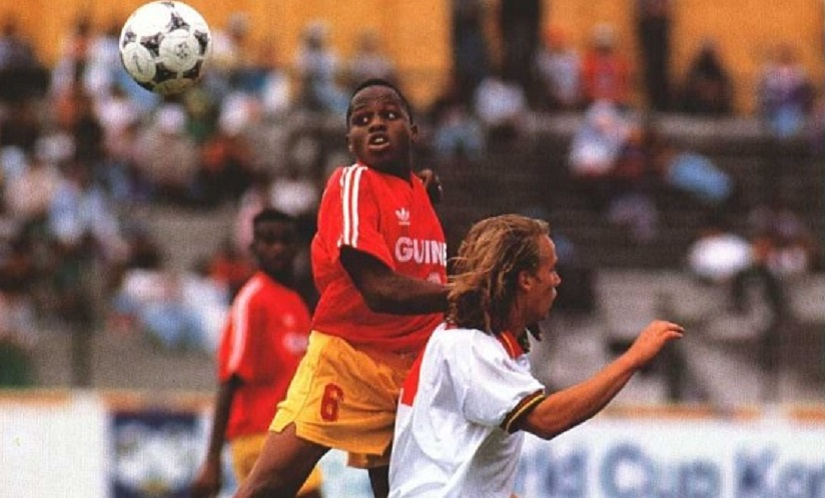 Guinea's Camara vies for the ball with Portugal's Cordeiro. Image courtesy: FIFA technical committee report