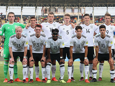 File image of Germany U-17 pose for a group picture. Getty Images