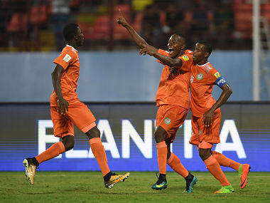 File image of Niger's U-17 team. Getty Images