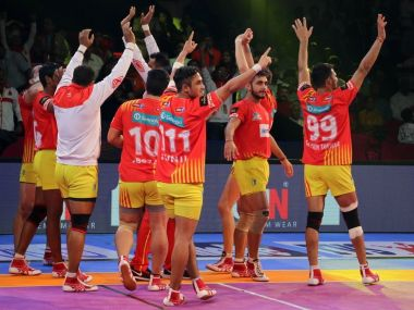 Gujarat Fortunegiants‏ continued their dominance beating Jaipur Pink Panthers. Twitter @Fortunegiants