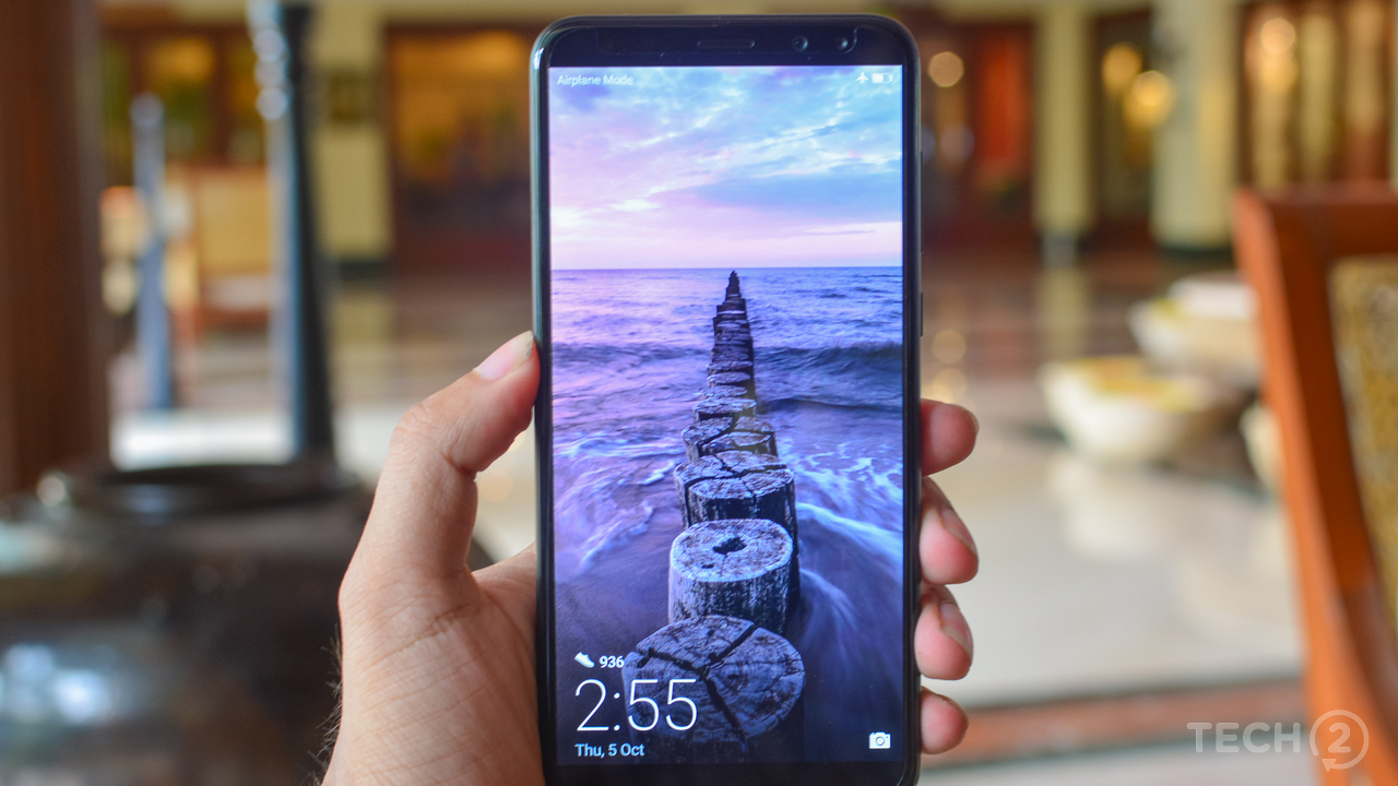 the competition of smartphone within its Smartphone shipments recorded its first decline since its introduction into the local market as intense competition  and opt for laptops within the.