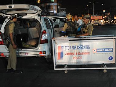 File image of Jammu and Kashmir police. AFP