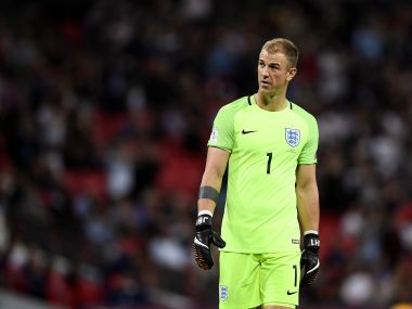 File image of England's Joe Hart. Reuters