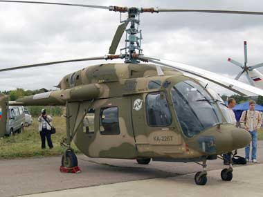 File image of a Kamov-226T helicopter. Wikimedia Commons