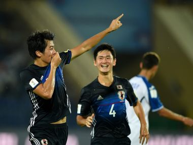 Japan might rest Keito Nakamura for the match against New Caledonia. Getty