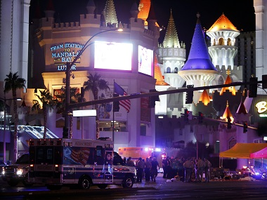 File image of the scene of the shooting. AP