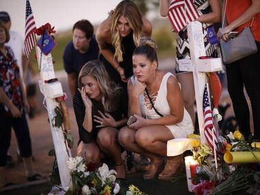 Victims of the Las Vegas shooting. AP