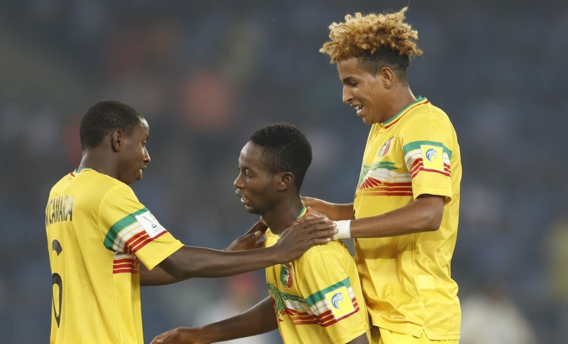 Experienced Mali courageous  hard  pitch conditions to get better of Ghana