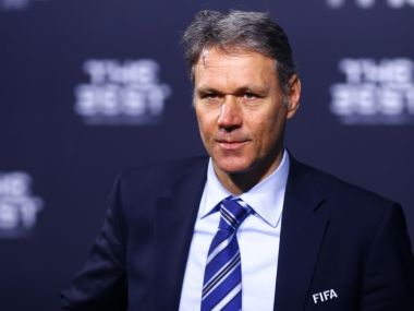 File image of Former Dutch player Marco van Basten. Reuters
