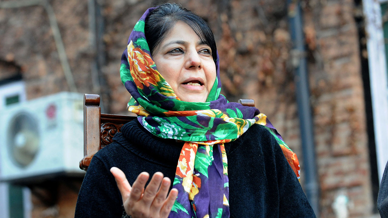 File image of Chief MInister Mehbooba Mufti. AFP