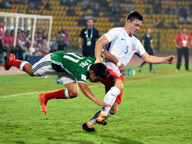 Both Mexico and Chile were uninspiring in their performance as their clash ended in a goalless draw. PTI