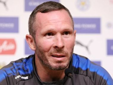 Leicester City caretaker manager Michael Appleton has said players are upset over Craig Shakespeare's sacking. Image courtesy: Twitter @LCFC