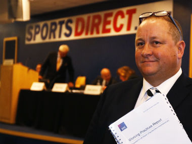 File image of Mike Ashley. Reuters