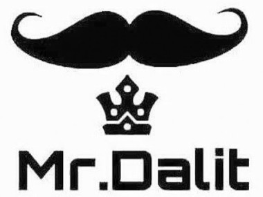 A logo of a twirled moustache with a crown. Image Courtesy: Twitter @itsAmitD