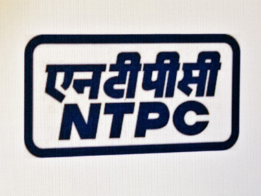 File image of NTPC logo. Getty Images